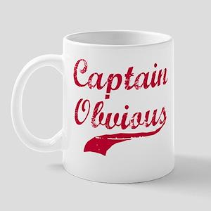 CAPTAIN OBVIOUS SHIRT CAPTAIN Mug