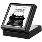 Blame the Typewriter Keepsake Box