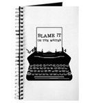 Blame the Typewriter Journal