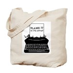 Blame the Typewriter Tote Bag