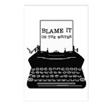 Blame the Typewriter Postcards (Package of 8)