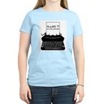 Blame the Typewriter Women's Light T-Shirt