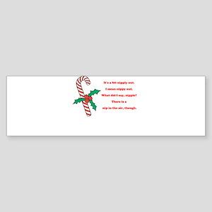 Nipply Bumper Sticker