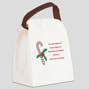 Nipply Canvas Lunch Bag