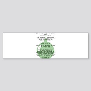 Christmas Vacation Department Store Scene Bumper S