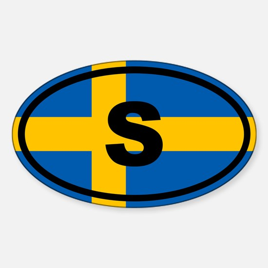 Sweden flag Decal