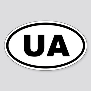 Ukraine UA Sticker