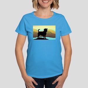 seaside affen Women's Dark T-Shirt