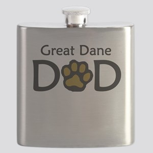 Great Dane Dad Flask