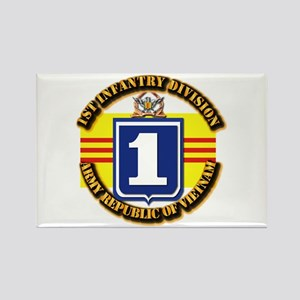 ARVN - 1st Infantry Division Rectangle Magnet