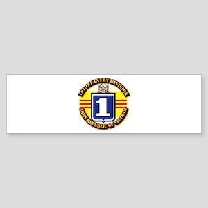 ARVN - 1st Infantry Division Sticker (Bumper)
