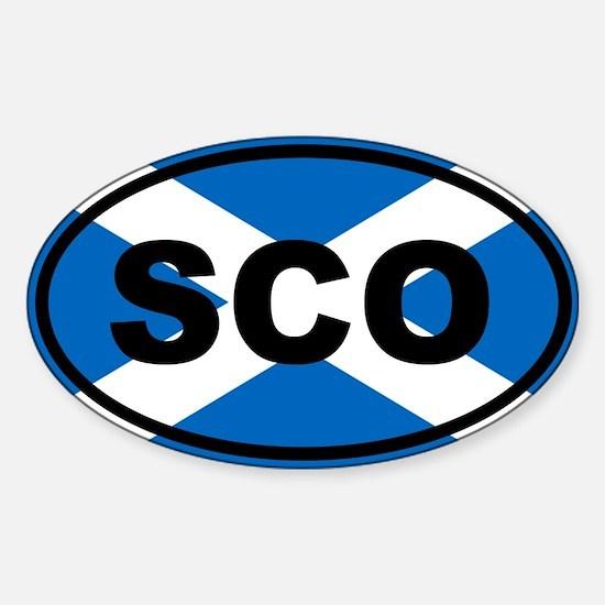 Scotland flag Decal