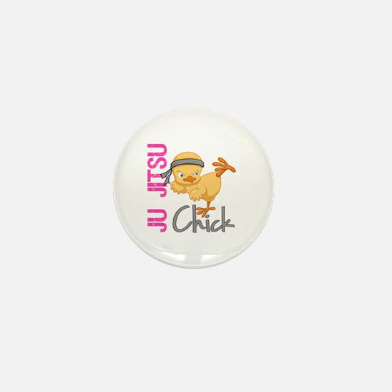 Ju Jitsu Chick 2 Mini Button