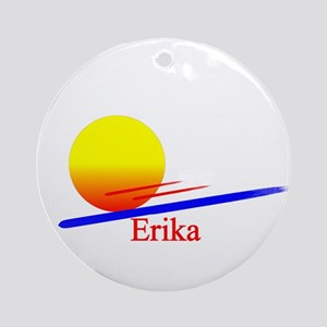 Erika Ornament (Round)