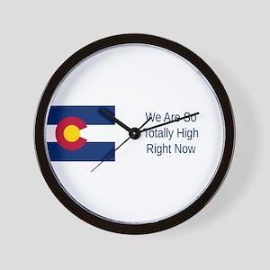 Colorado Humor #4 Wall Clock