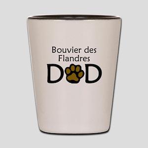 Bouvier des Flandres Dad Shot Glass