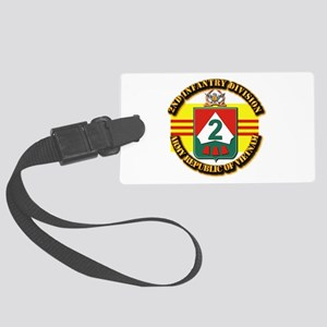 ARVN - 2nd Infantry Division Large Luggage Tag