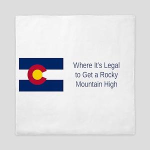 Colorado Humor #3 Queen Duvet