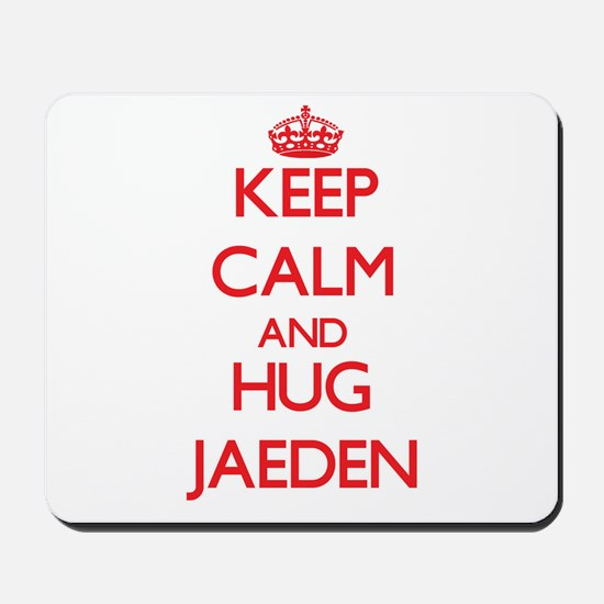 Keep Calm and HUG Jaeden Mousepad