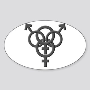 Swinger Oval Sticker