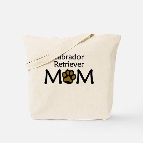 Labrador Retriever Mom Tote Bag