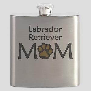 Labrador Retriever Mom Flask