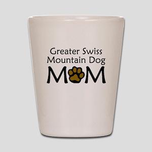 Greater Swiss Mountain Dog Mom Shot Glass