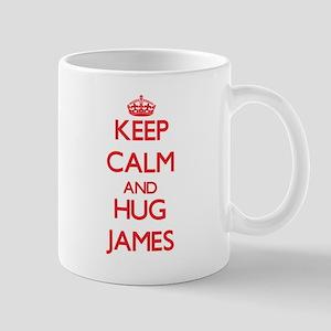 Keep Calm and HUG James Mugs