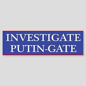 Investgate Putin-gate Bumper Sticker