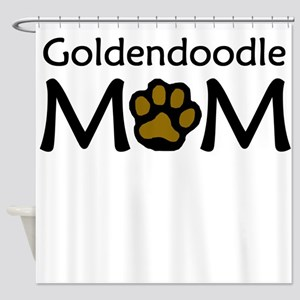 Goldendoodle Mom Shower Curtain
