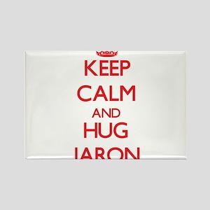 Keep Calm and HUG Jaron Magnets