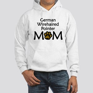 German Wirehaired Pointer Mom Hoodie