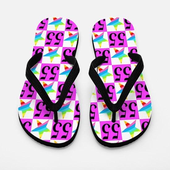 GORGEOUS 55TH Flip Flops