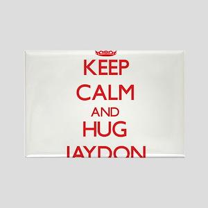 Keep Calm and HUG Jaydon Magnets