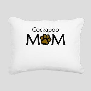 Cockapoo Mom Rectangular Canvas Pillow