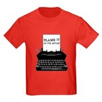 Blame the Typewriter Kids Dark T-Shirt
