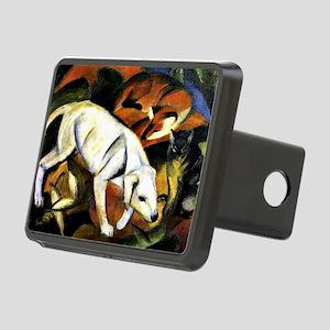 Franz Marc - A Dog Rectangular Hitch Cover