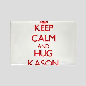 Keep Calm and HUG Kason Magnets
