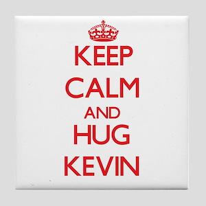 Keep Calm and HUG Kevin Tile Coaster