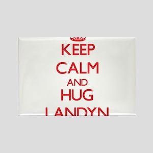 Keep Calm and HUG Landyn Magnets