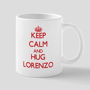 Keep Calm and HUG Lorenzo Mugs