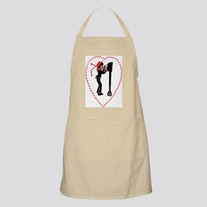 Valentines Day Card Apron