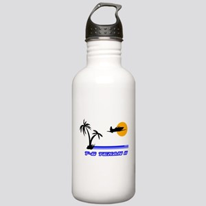 Retro T-6 Stainless Water Bottle 1.0L