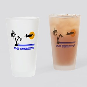 Retro T-6 Drinking Glass