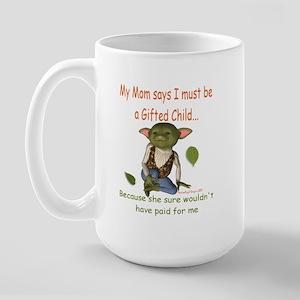 """""""Gifted Child"""" Large Mug"""