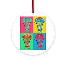 Lacrosse BIG 4 Ornament (Round)