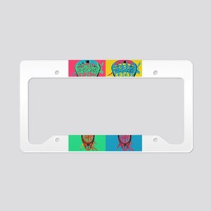 Lacrosse BIG 4 License Plate Holder