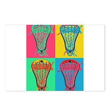Lacrosse BIG 4 Postcards (Package of 8)