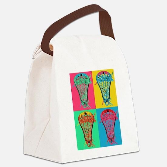 Lacrosse BIG 4 Canvas Lunch Bag