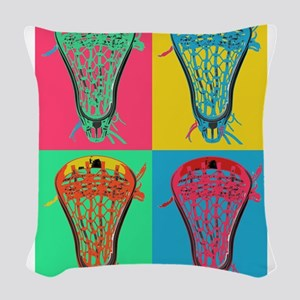 Lacrosse BIG 4 Woven Throw Pillow